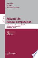 Advances in Natural Computation