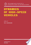 Dynamics of High-Speed Vehicles