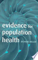 Evidence for Population Health Book PDF