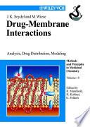 Drug Membrane Interactions