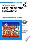 Drug-Membrane Interactions