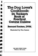 The dog lover's cookbook