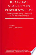 Real Time Stability in Power Systems Book