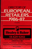 Directory of European Retailers