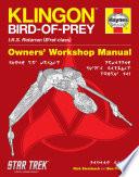 Klingon Bird of Prey Haynes Manual Book