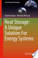 Heat Storage  A Unique Solution For Energy Systems