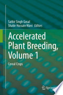 Accelerated Plant Breeding  Volume 1