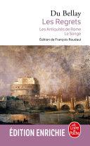 Pdf Les Regrets suivis des Antiquités de Rome et du Songe Telecharger