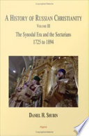 A History of Russian Christianity  Vol  III