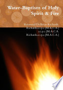 Water Baptism of Holy Spirit   Fire Book