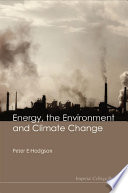 Energy  the Environment and Climate Change Book