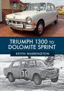 Pdf Triumph 1300 to Dolomite Sprint Telecharger