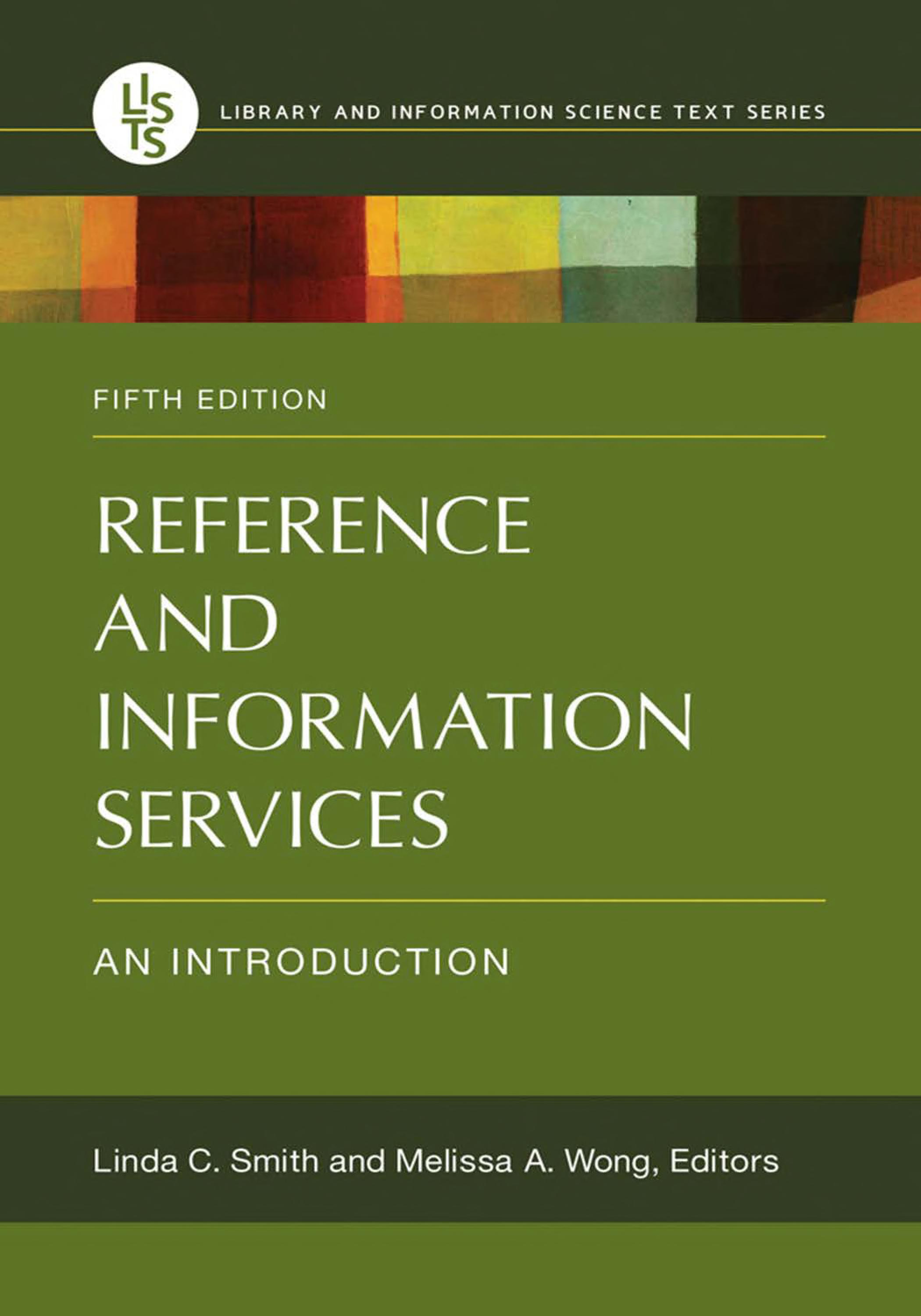 Reference and Information Services  An Introduction  5th Edition