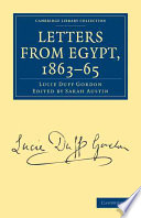 Letters From Egypt 1863 65