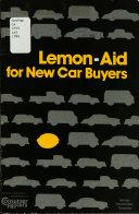 Lemon aid for New Car Buyers