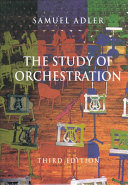 The study of orchestration Book PDF