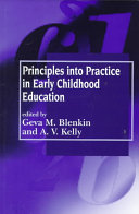 Principles Into Practice In Early Childhood Education