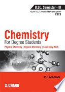 Chemistry for Degree Students B.Sc. Semester - III (As per CBCS)