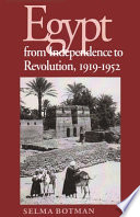 Egypt from Independence to Revolution, 1919-1952