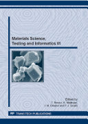 Materials Science, Testing and Informatics VI Pdf/ePub eBook