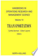 Handbooks in Operations Research & Management Science: Transportation
