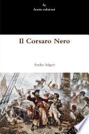"""""""Il Corsaro Nero"""" by Emilio Salgari"""
