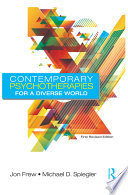 Cover of Contemporary Psychotherapies for a Diverse World