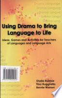 Using Drama to Bring Language to Life