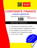 CORPORATE FINANCE CONCEPT QUESTIONS
