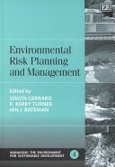 Environmental Risk Planning And Management Book PDF