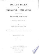 Poole s Index to Periodical Literature