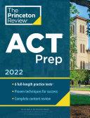 Princeton Review ACT Prep, 2022 Pdf/ePub eBook