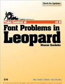 Take Control of Font Problems in Leopard