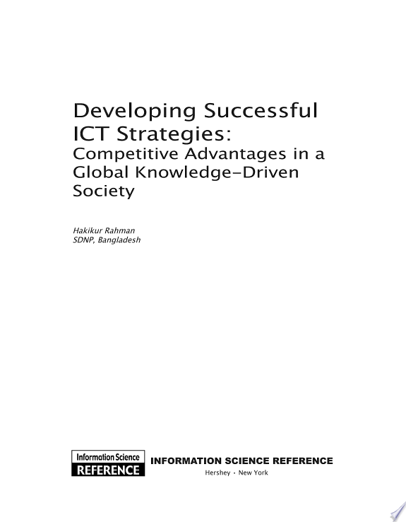 Developing Successful ICT Strategie