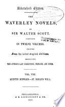 Quentin Durward St Ronan S Well