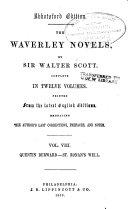 Quentin Durward. St. Ronan's well