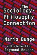 The Sociology-philosophy Connection Pdf/ePub eBook