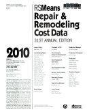 Repair   Remodeling Cost Data 2010