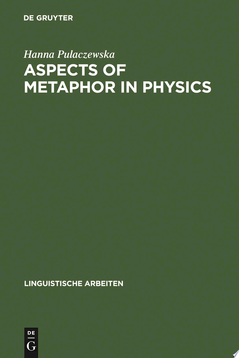 Aspects of Metaphor in Physics