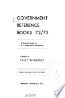 Government reference books 72/73