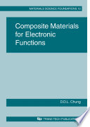 Composite Materials for Electronic Functions Book