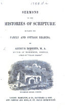 Sermons on the Histories of Scripture