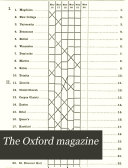 The Oxford Magazine