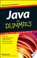 List of Java For Dummies Quick Reference E-book