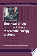 Electrical Drives For Direct Drive Renewable Energy Systems Book PDF