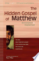 The Hidden Gospel Of Matthew Book PDF
