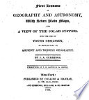 First Lessons in Geography and Astronomy Book PDF