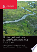 Routledge Handbook Of Water Economics And Institutions Book PDF
