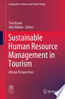 Sustainable Human Resource Management in Tourism