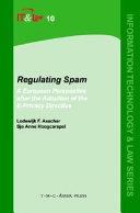 Regulating Spam